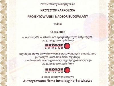 Certyfikat 2018 1